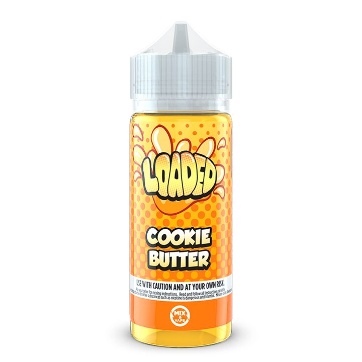 Bomb Site: Cookie Butter by Loaded (100ml shortfill)