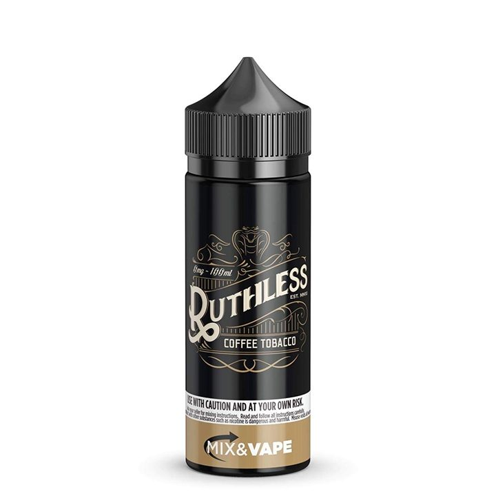 Bomb Site: Coffee Tobacco by Ruthless (100ml shortfill)